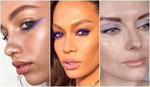 Purple is the new black: how purple eye makeup is taking the world by storm