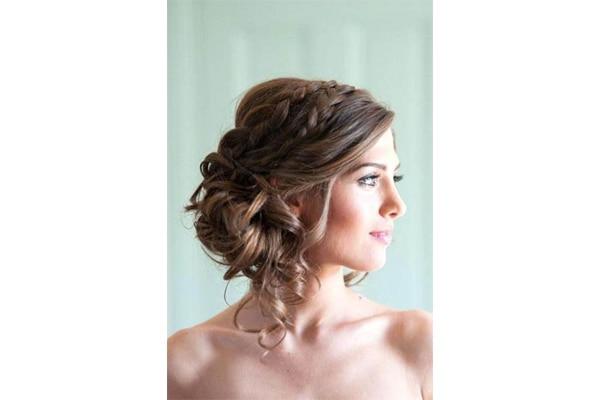 Braided Side Bun Hairstyle