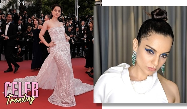 'Queen' Kangana owned the Cannes red carpet with her hair and makeup looks