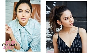 Rakul Preet's makeup game is simple yet striking. Her Instagram account is proof!