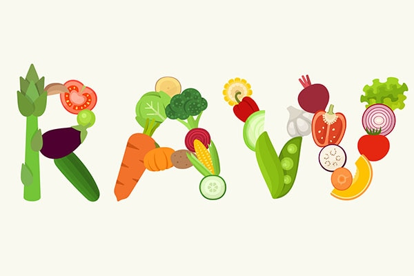 Raw food diet: benefit & side effects