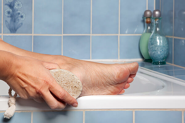 1. Really 'clean' your feet