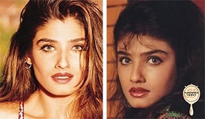 Reminiscing Raveena Tandon's iconic beauty looks from the 90's