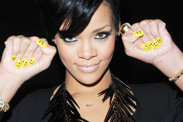 Rihanna Quirky Manicure