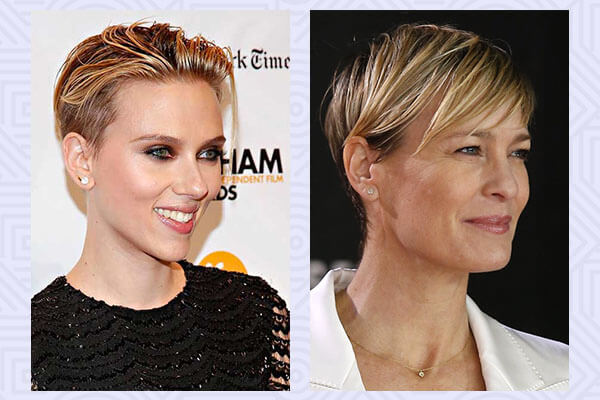 Robin Wright and Scarlett Johansson
