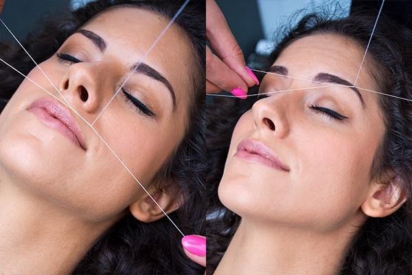 Remove Facial Hair at Home Threading