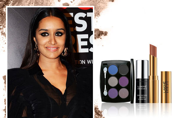 Shraddha Kapoor's smokey eyes and nude lips