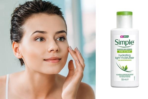 3.Simple Kind To Skin Hydrating Light Moisturiser