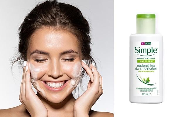 4.Simple Kind To Skin Replenishing Rich Moisturiser