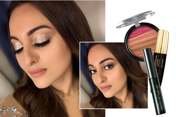 Sonakshi Sinha Eye makeup