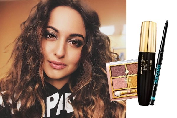 Sonakshi Sinha Eye makeup