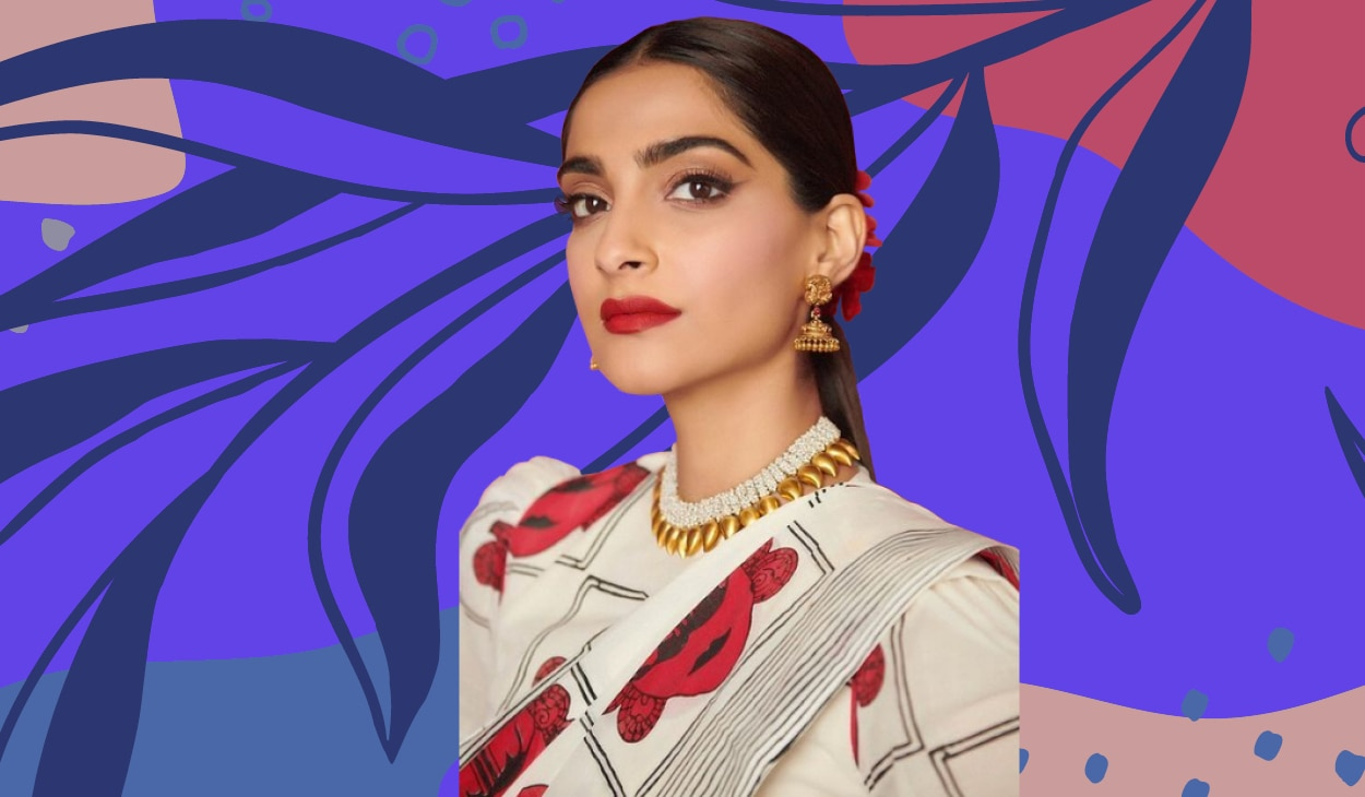 5 times birthday girl Sonam Kapoor paired red lipstick with striking eye makeup
