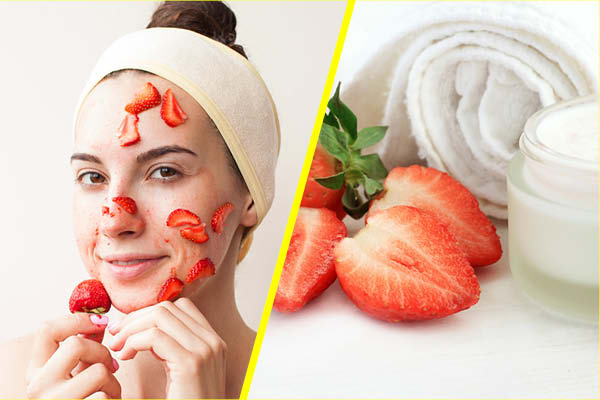 Strawberry Mask Fight Oily Skin