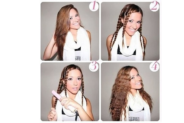 4 Different Hairstyles With A Hair Straightener