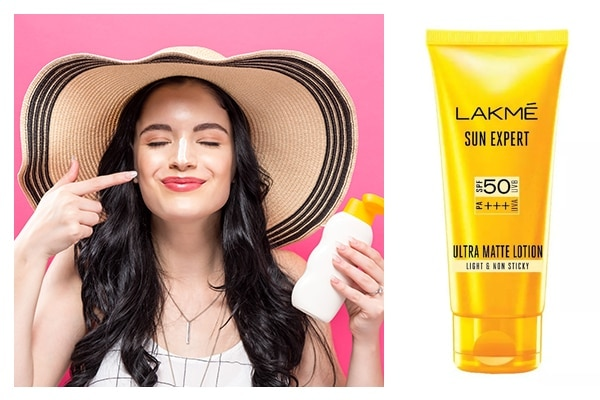 First things first, sunscreen!