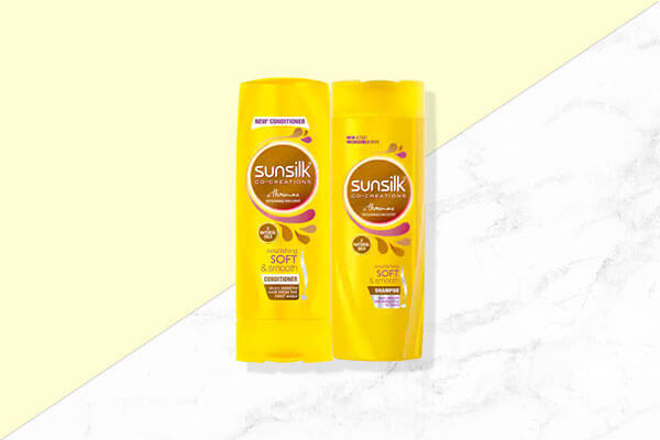 Sunsilk Nourishing Soft and Smooth Shampoo and Conditioner