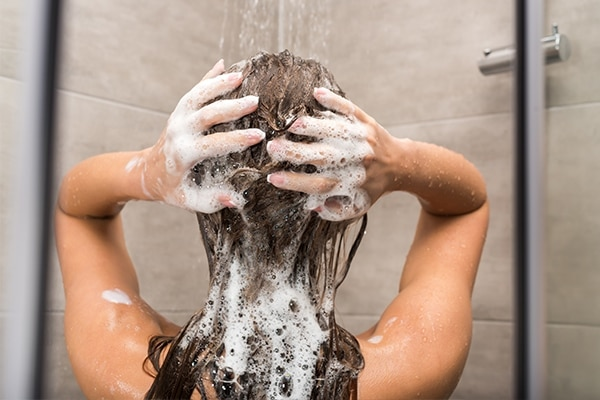 Use a detoxifying shampoo
