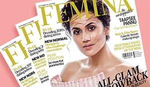 Get the look: Taapsee Pannu gets the dewy look right on the September issue of Femina
