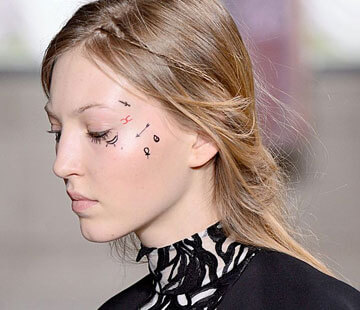 Temporary beauty tattoos