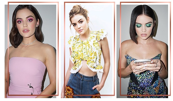 The best hair and eye makeup combos – Summer Edition ft. Lucy Hale