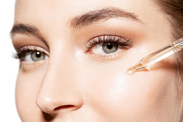Coconut Oil use as an eye cream