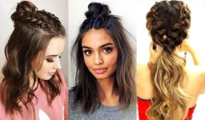 The long and short of it—here are 10 cute hairstyles for girls with any hair length