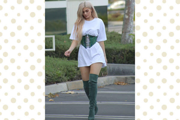 Corset + Thigh High Boots