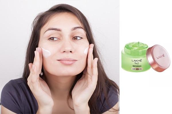 Opt for an oil free moisturiser