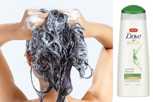 Choose a mild shampoo
