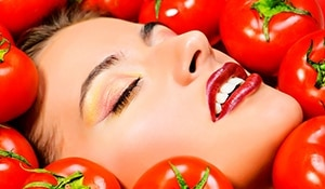 4 tomato masks to protect your skin in winter