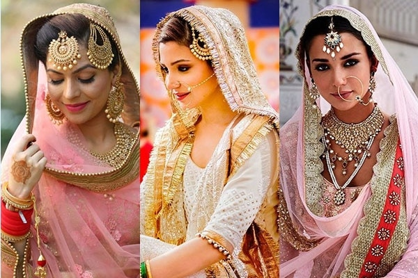 Bridal Looks And Hairstyles Of Various Cultures In India