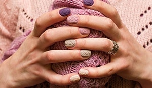5 trending nail colours for winter