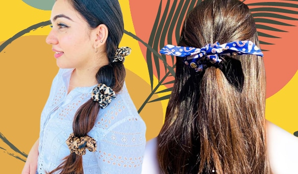 5 cute and trendy ways to style a scrunchie