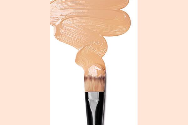 Foundation + Facial oil