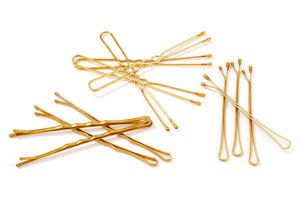 4. Use hair pins