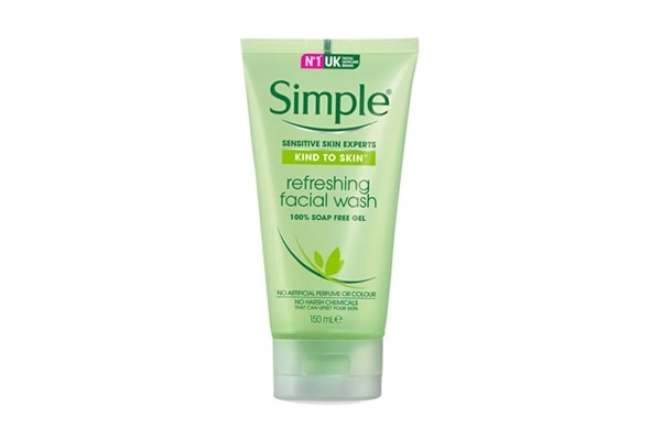 Simple Kind To Skin Refreshing Facial Wash