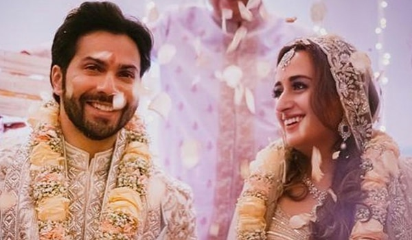 Varun Dhawan and Natasha Dalal are now married! Here's a look at their fairytale ceremony