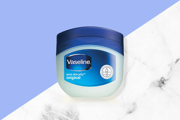 Vaseline original pure skin jelly to treat razor burn