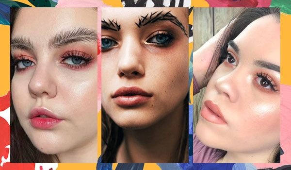 Wacky eyebrow trends you have gotta see!