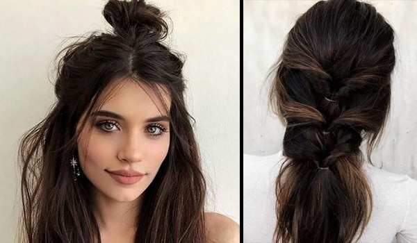Watch and learn: 3 insanely effortless hairstyles for when you got no time