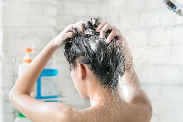 Avoid washing your hair everyday