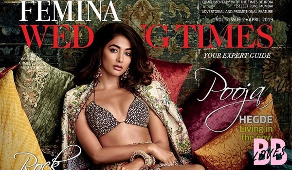 Pooja hedge's earthy makeup for the cover of Femina Wedding Times is scorching hot!
