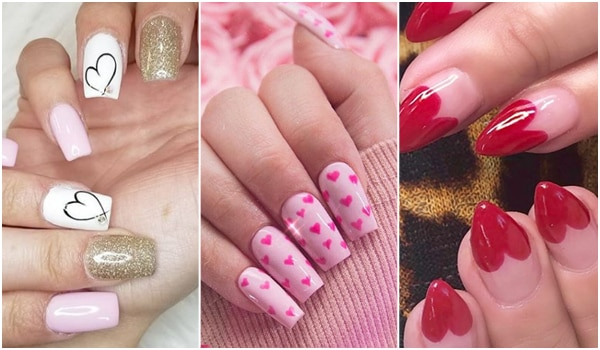 Wear your heart on your nails, this Valentine's Day