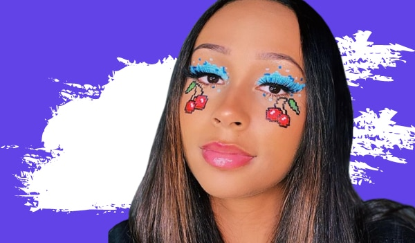 8-bit makeup trend is winning the internet — here's everything you need to know about it