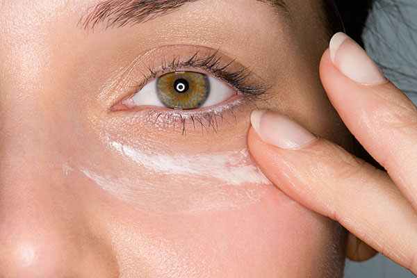 4. Beat puffy eyes with an eye cream