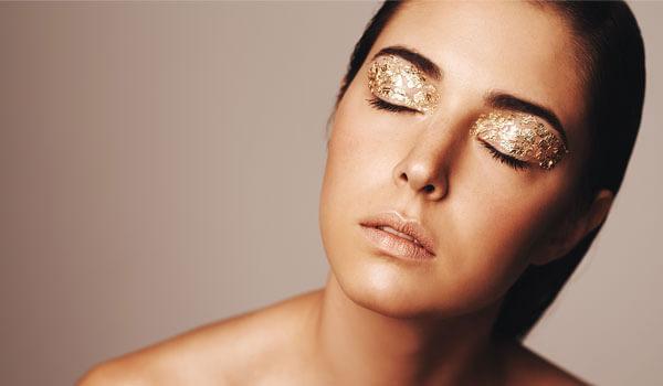 Image result for shimmer makeup