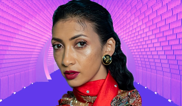 Get the look: Statement wine lips from day 5 of Lakmé Fashion Week 2020