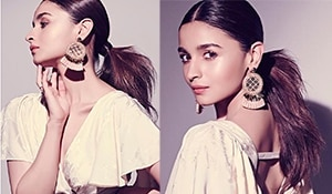 Alia Bhatt's sleek tousled ponytail has all our votes. Here's how to recreate the look...
