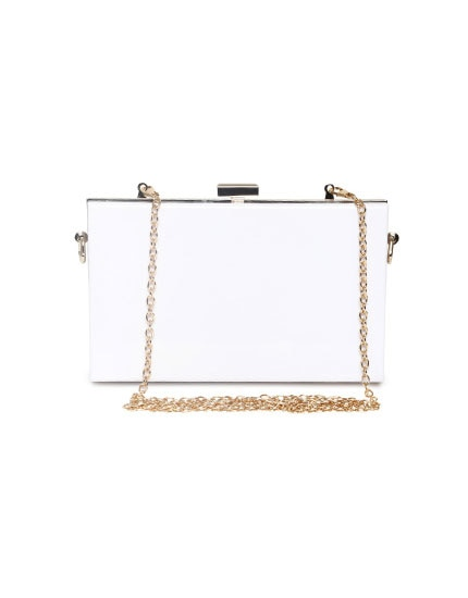 all white party look box clutch 430x550