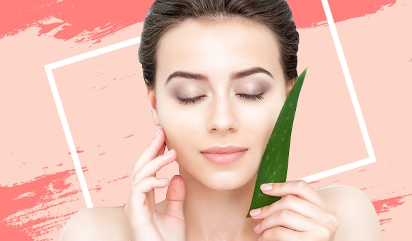 Aloe vera-infused skincare products that soothe and moisturise dry skin